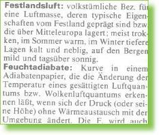 aus MEYERS .. LEXIKON Meteorologie 1987
