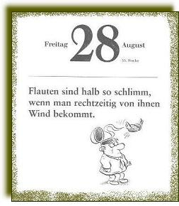 Kalenderblatt aus 2003 oder 2004, Firma unbekannt