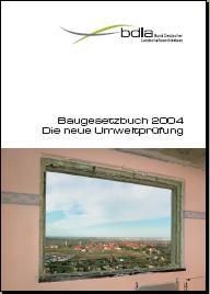 Titelseite Bund Deutscher Landschaftsarchitekten 2004