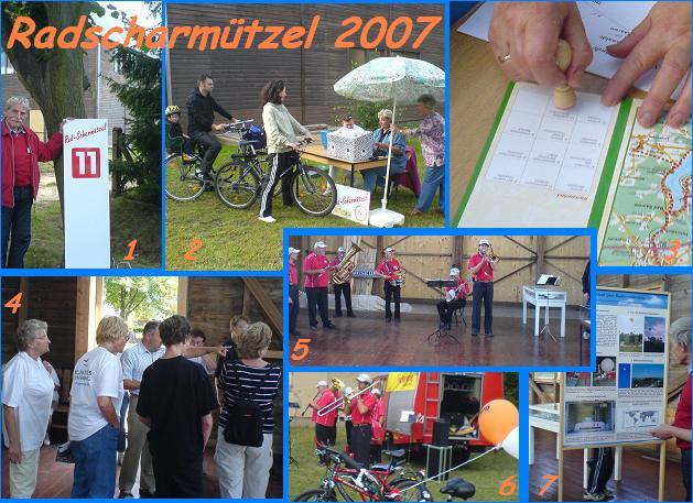 Impressionen vom Radscharmützel in Lindenberg 2007