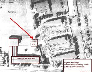 Lageplan Schulkomplex
