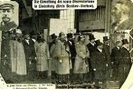 Der Kaiser in Lindenberg 1905: Bild aus der Pressemitteilung des DWD zum 100jährigen Jubiläum des Observatoriums