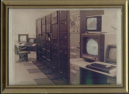 Satellitenempfangsanlage WES4 1988
