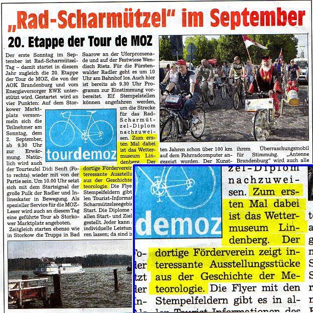 Ausriss Maerkischer Markt 23.08.2007