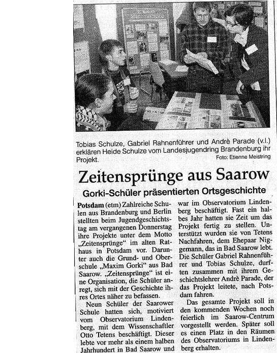 Ausriss MOZ 2007/11/21