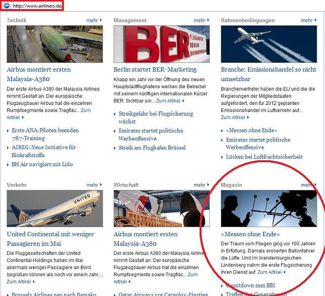 Screenshot Airliner Online ...
