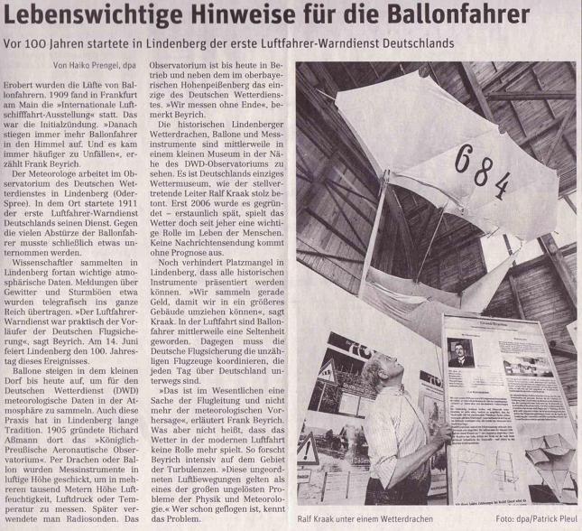 Ausriss Neues Deutschland ...