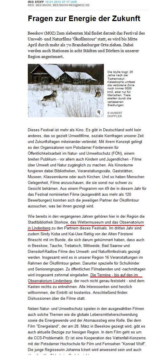 Screenshot MOZ Online ...