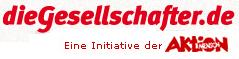 Logo diegesellschafter.de der AKTION MENSCH