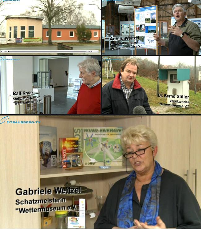 Screenshots Strausberg TV im Internet