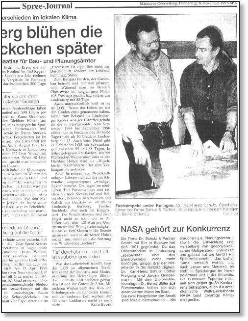 Ausriss Märkische Oderzeitung