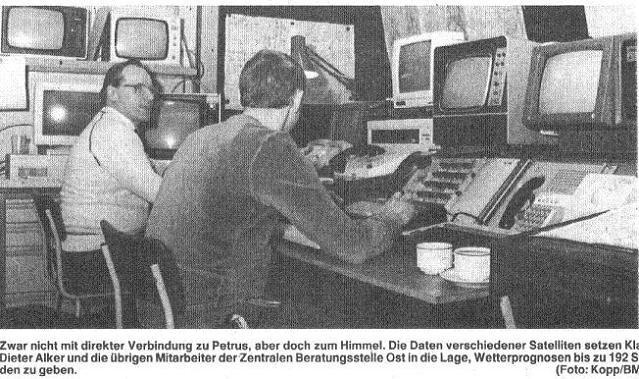 ehemalige RBZ Ost, Foto 1992 Berliner Morgenpost